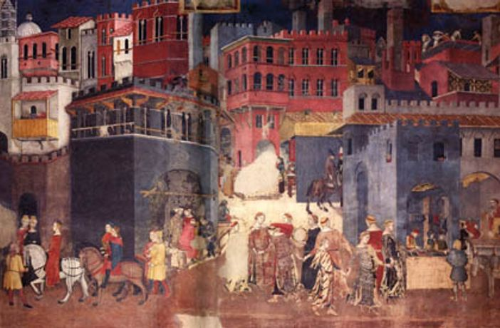 Ambrogio Lorenzetti and the Image of the City in Sienese Painting: Image 0