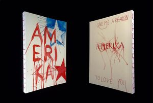 Amerika. Give me a reason to love you by Elisabeth Masé