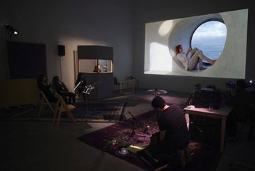 Amie Siegel Winter 2013 Color video, transferred from 16 mm film, with sound, 33 min. and performance with objects Dimensions variable, edition 3/4 Solomon R. Guggenheim Museum, New York Purchased with funds contributed by the Young Collectors Council, 2015, 2015.44