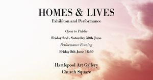 Amy Norris & Rory Henderson 'Home & Lives'  - Apse Gallery