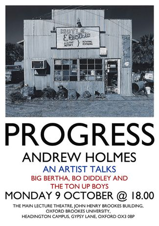 PROGRESS by Andrew Holmes Talk