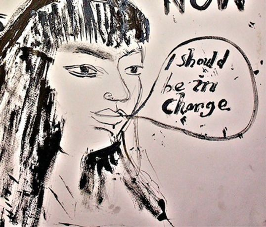 An Audience with Bob & Roberta Smith: Women Should be in Charge at the ICA: Image 0
