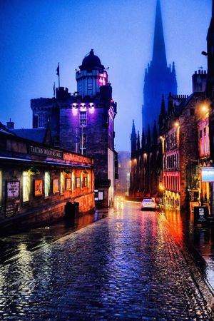 An Audience with 'Dark Edinburgh'