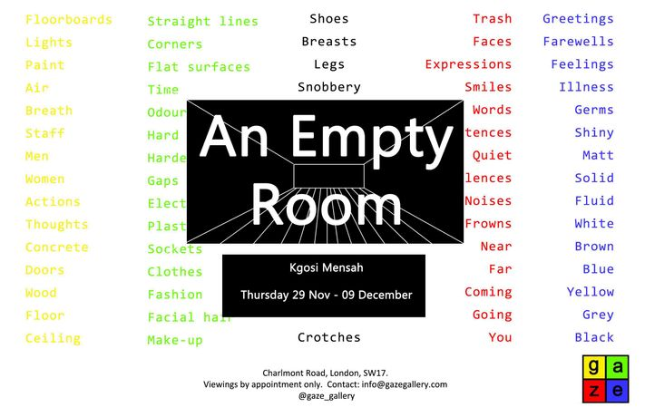 An Empty Room: Image 0