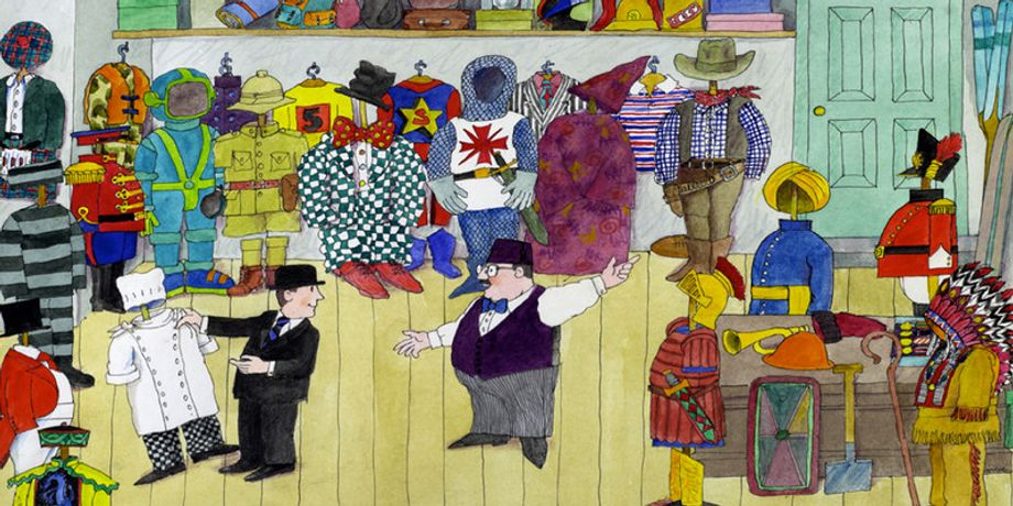 An evening with Mr Benn and David McKee: Image 0