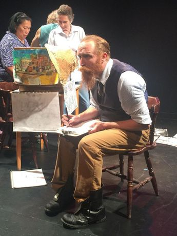 Walter DeForest as Vincent Van Gogh
