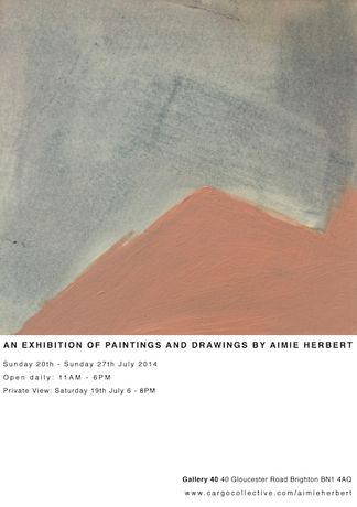 An Exhibition of Paintings and Drawings by Aimie Herbert: Image 0