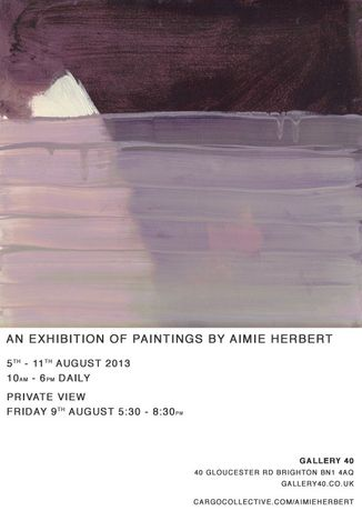 An Exhibition of Paintings by Aimie Herbert: Image 0