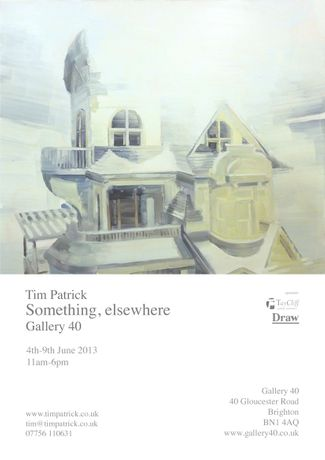 An Exhibition of paintings by Tim Patrick 'SOMETHING,ELSEWHERE': Image 0