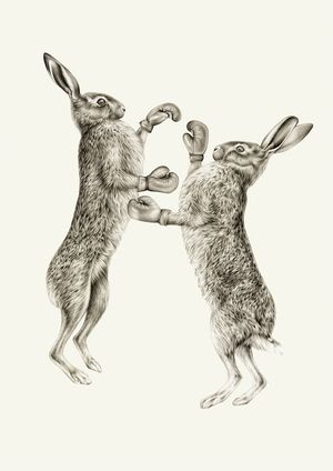 March Hares by Lauren Mortimer