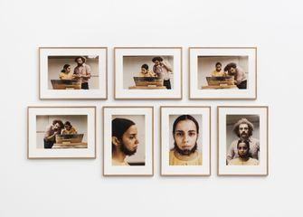 Ana Mendieta, Untitled (Facial Hair Transplants), 1972.  Copyright The Estate of Ana Mendieta Collection, LLC; Courtesy The Estate of Ana Mendieta Collection, Galerie Lelong, New York and Alison Jacques Gallery, London