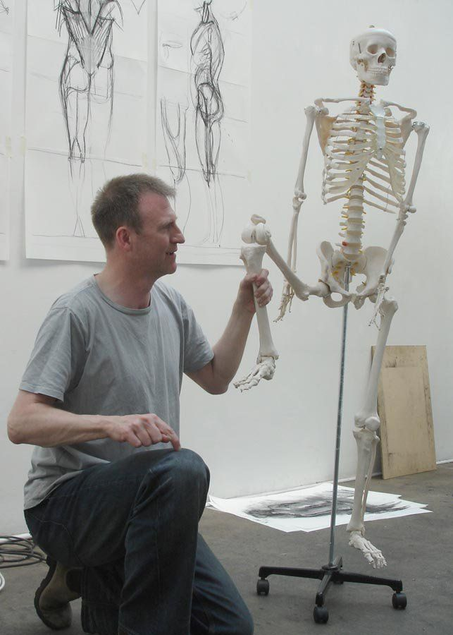 Anatomy for Artists with Alan McGowan - Workshop at St Margaret\'s ...