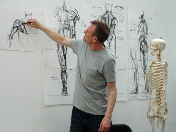 Anatomy for Sculptors with Alan McGowan: Image 3