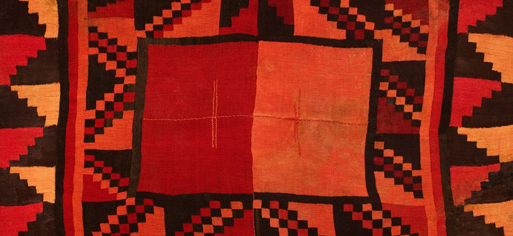 Image: Andean textile. Courtesy: Paul Hughes Collection