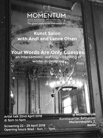Andi And Lance Olsen: Your Words Are Only Guesses: Image 0