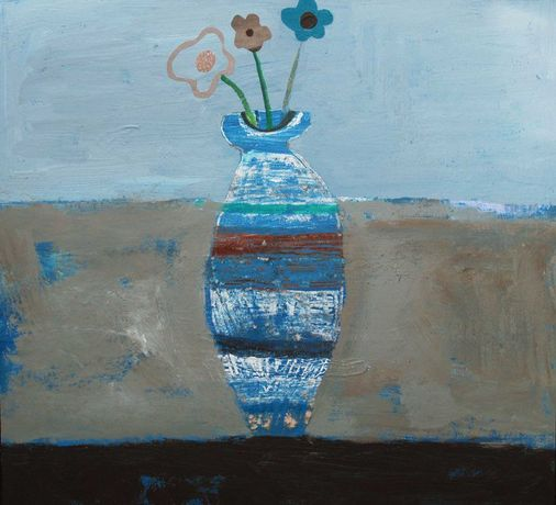 ©Andrea Humphries: Blue Vase