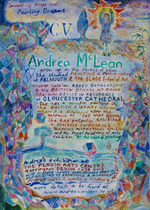 Andrea McLean: Imagining Maps & Painting Dreams