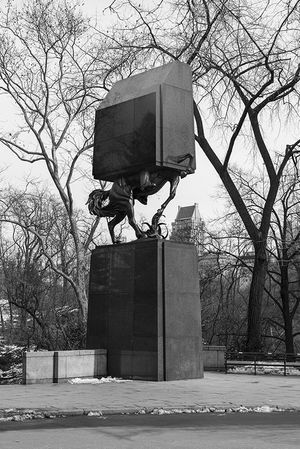 Andres Duran. Edited Monument: Avenue of the Americas