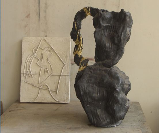Andrew Lord: Sorrow, a sculpture of thirty pieces and related work.: Image 0