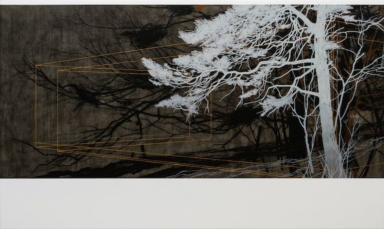 Andrew Mackenzie: Veined with Shadow Branches: Image 0