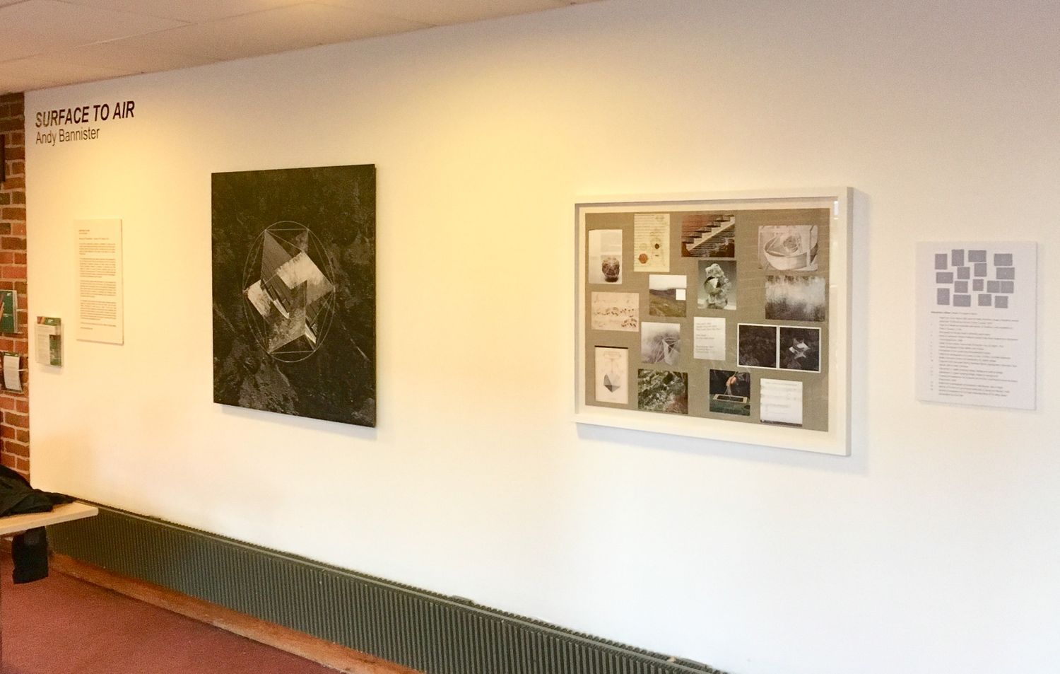 Andy Bannister- Surface To Air - Exhibition at Turner Sims ...