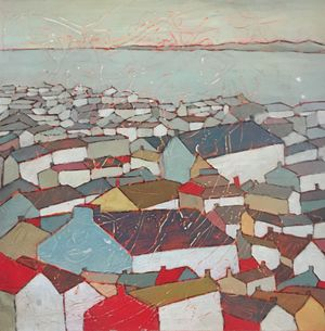 Angela Annesley 'Early Morning Light St Ives'