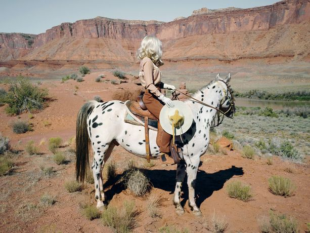 Title: The Imaginary Cowboy, 2017 Print size: 112 x 150 cm Edition of 7 + 2AP C-type print Other available size 52 x 70 cm in an edition of 10 + 2AP