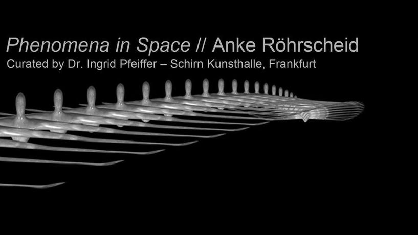 Anke Röhrscheid. Phenomena In Space: Image 0