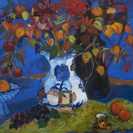 Oram, Chinese Lanterns in the new Jug