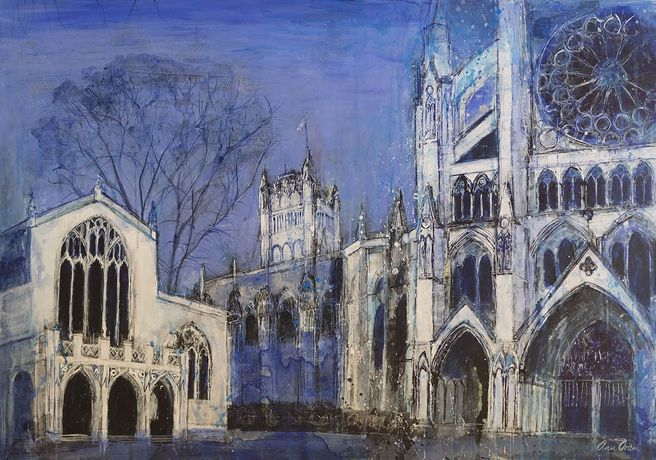 Ann Oram, Westminster Abbey