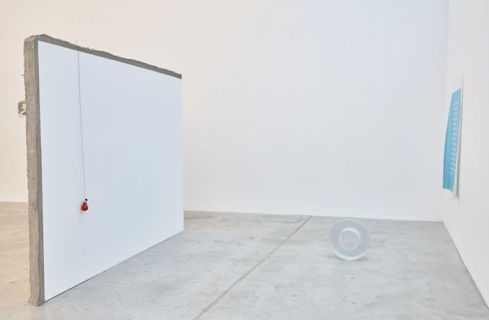 Ann Veronica Janssens and Michel François, The Song of the Araponga, 2019, installation view, Bortolami, New York