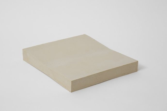 Anna-Bella Papp, Untitled, 2014 clay, 28 x 25.5 x 4 cm, 11 1/8 x 10 1/8 x 1 5/8 ins, (MA-PAPPA-00118) Courtesy the artist and Stuart Shave/Modern Art, London