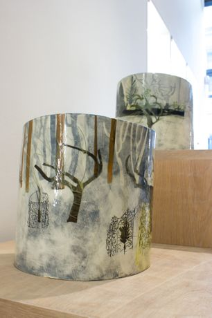 Exhibition view | Anna Lambert | Parceval Hall Orchard April and Parcavel Hall Orchard May