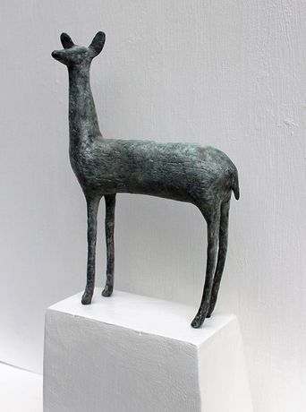 Doe, Bronze by Sarah Jenkins