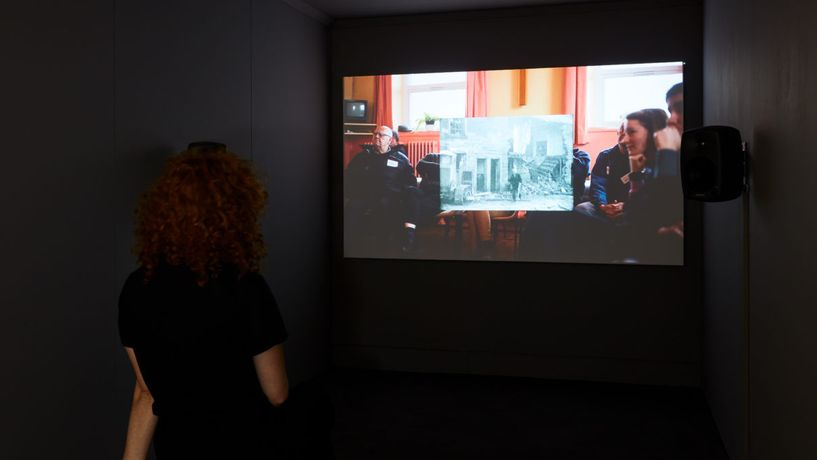 Anna Raczynski, The Movie Makers, 2018. Installation View as part of Survey. Commissioned by Jerwood Charitable Foundation. Photo: Luke Walker