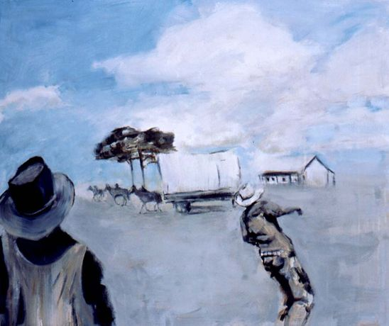Anne Ryan 'The Cowboy Paintings': Image 2