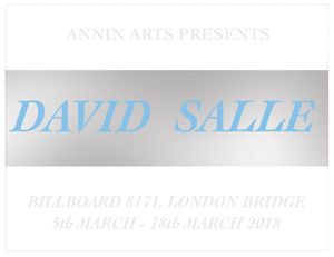 Annin Arts presents David Salle