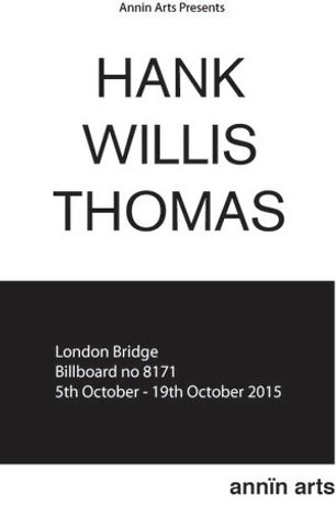 Annin Arts presents Hank Willis Thomas: Image 0