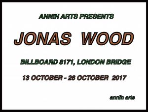 Annin Arts presents Jonas Wood