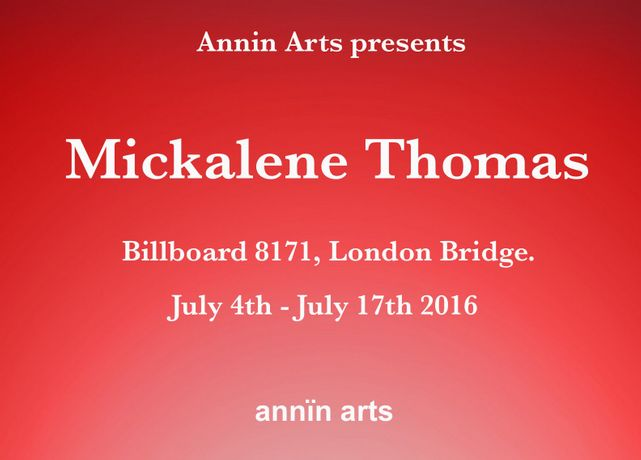 Annin Arts presents Mickalene Thomas billboard 8171