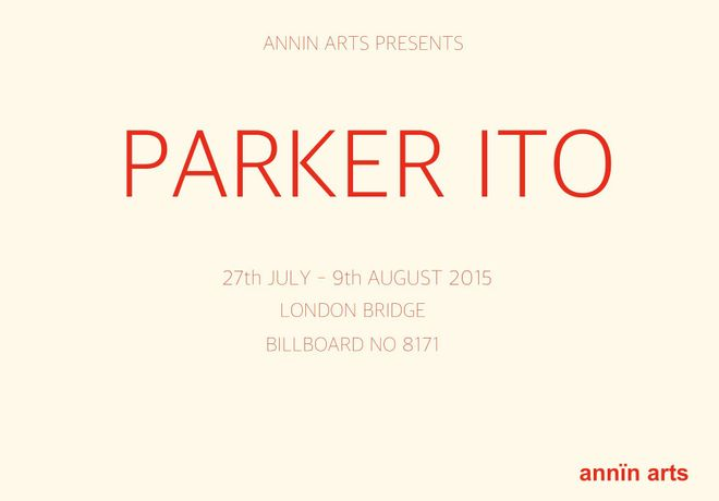 ANNIN ARTS PRESENTS PARKER ITO: Image 0