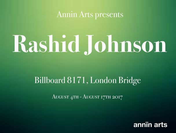 Annin Arts presents Rashid Johnson: Image 0