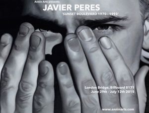 ANNIN ARTS PRESENTS JAVIER PERES 'SUNSET BOULEVARD 1970-1993'