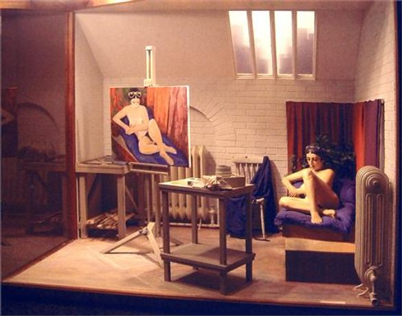 Another Dimension: The Dioramas of Peter Hand: Image 0