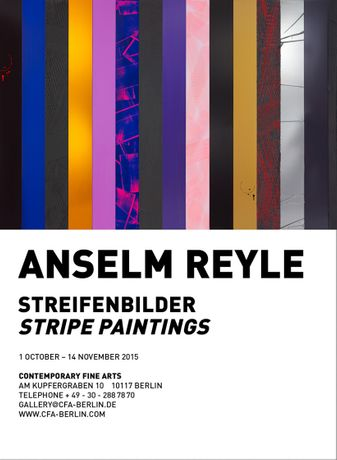 Anselm Reyle. Streifenbilder / Stripe Paintings: Image 0