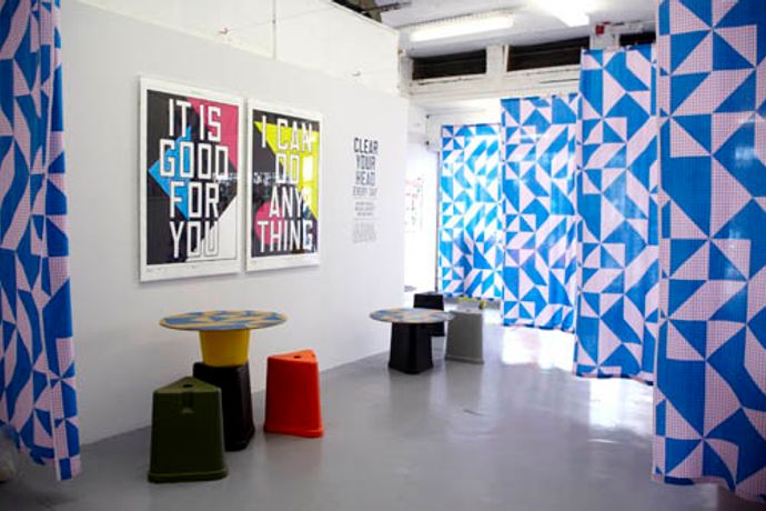 Anthony Burrill ' Clear Your Head Every Day' at Outline Editions ' ***NEW WORKSHOP DATE ANNOUNCED: Sat 16th July: Image 0