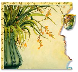 Anthony Green RA, Montbretia, The Reflection