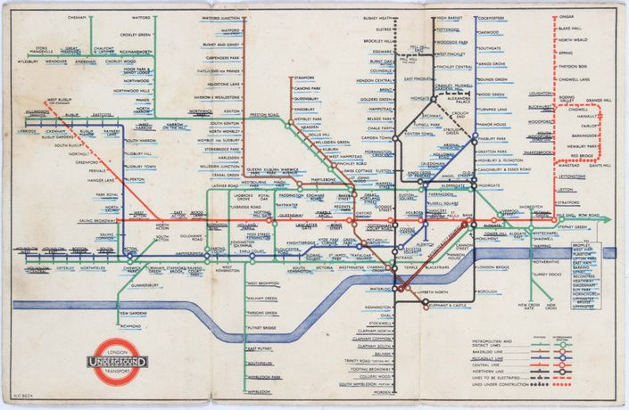 London Underground map - www.AntikBar.co.uk