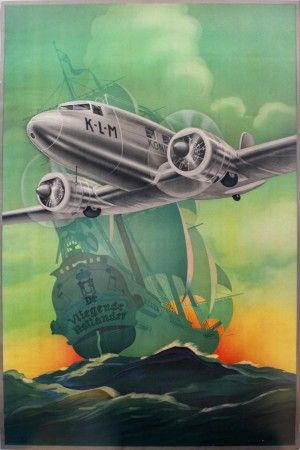 AntikBar Vintage Poster Auction Featuring Aviation Posters