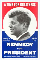 AntikBar Auction 14 April 2018 - John F Kennedy Presidential Election Campaign 2000